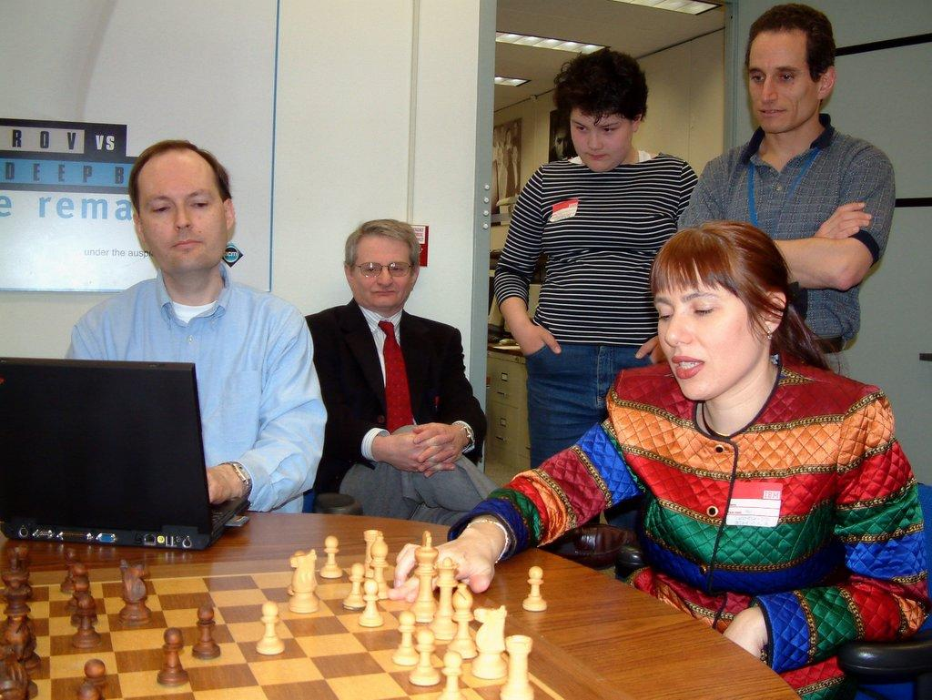 .Polgar's friendly match with Deep Blue.